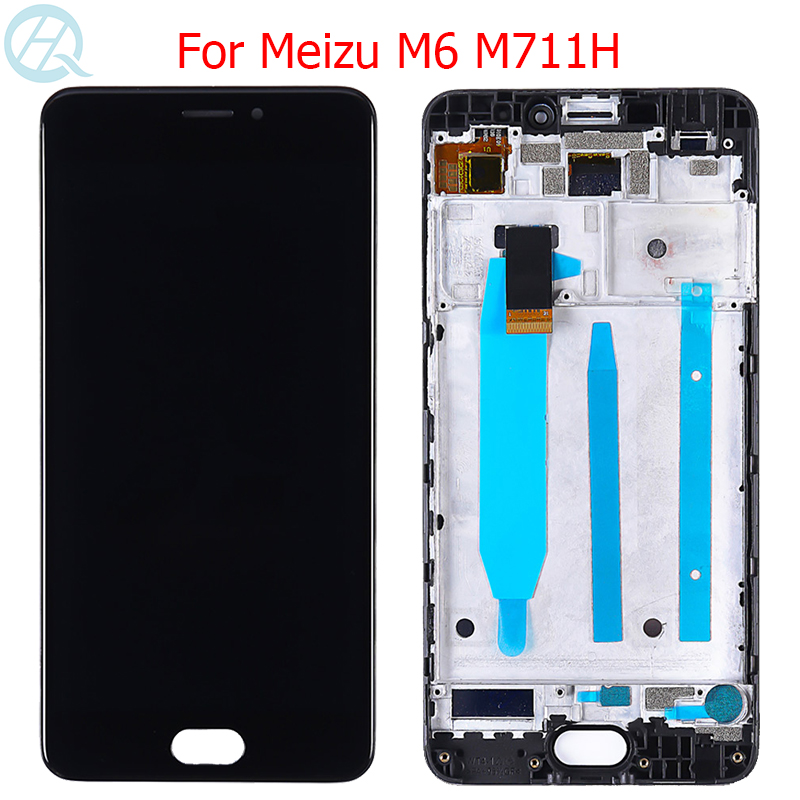 Original Meilan 6 LCD For Meizu M6 Display With Frame Touch Screen 5.2
