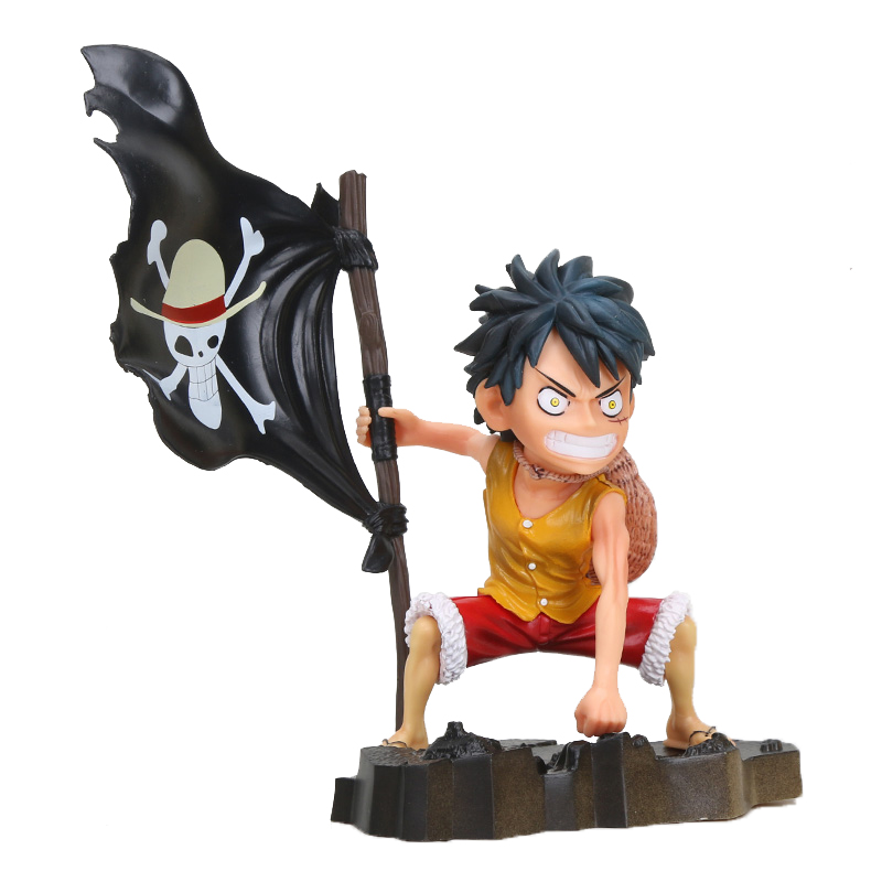 Figurine Figure Monkey D Luffy One Piece 17cm