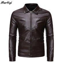 Новинка 2020 кожаные куртки markyi для мужчин в Пакистане с