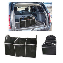 Car Boot Opganiser Storage Tidy Shopping Travel Pocket Collapsible Foldable Bag Trunk Organizer Styling