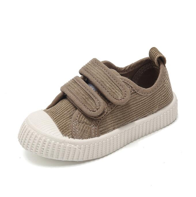 2019 Autumn New Child Soft Canvas Shoes Girls Sneakers Breathable Fashion Kids Shoes For Boys Casual Sport Shoes Student Shoes