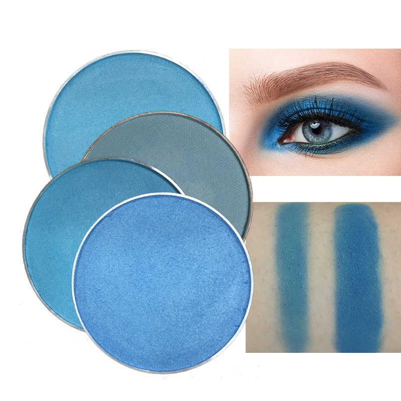 DIY Red & Black Charming Blueสีอายแชโดว์Glitter Pigmentกันน้ำMatteอายแชโดว์Beauty Make Up Cosmetic Palette