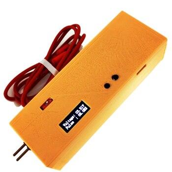 Mini Handheld Spot Welder Equipment Portable 70C Battery Spot Welding Machine Integrated Control Welding Tools OLED 0.2 Nickel