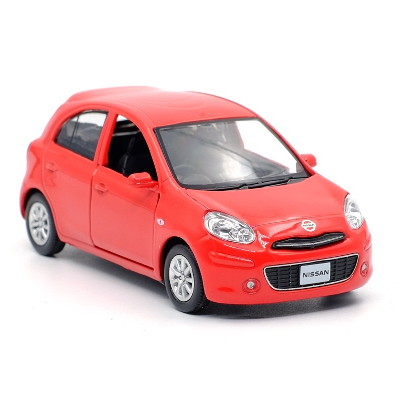 High Simulation Exquisite Diecasts & Toy Vehicles: RMZ City Car Styling Micra Mini Car 1:36 Alloy Diecast Model Pull Back Cars