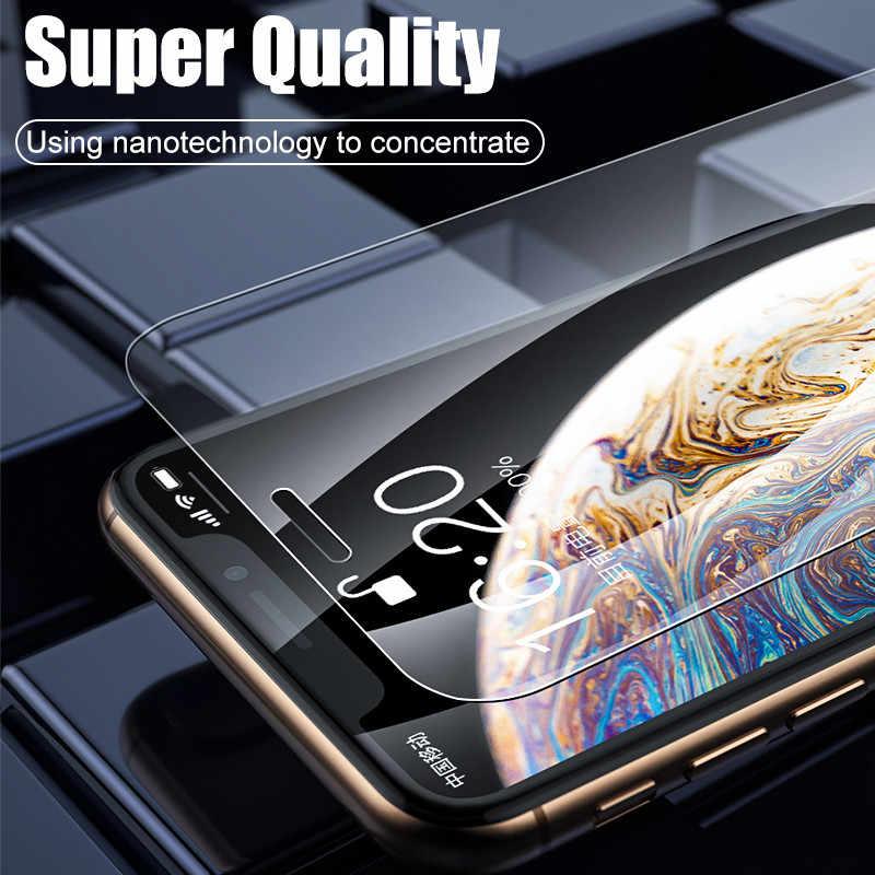 H & 2 uds 100D hidrogel de película para iPhone X XS X XR XS Max 11 Pro Max Protector de pantalla para iPhone 7 7 6 6s Plus suave película protectora