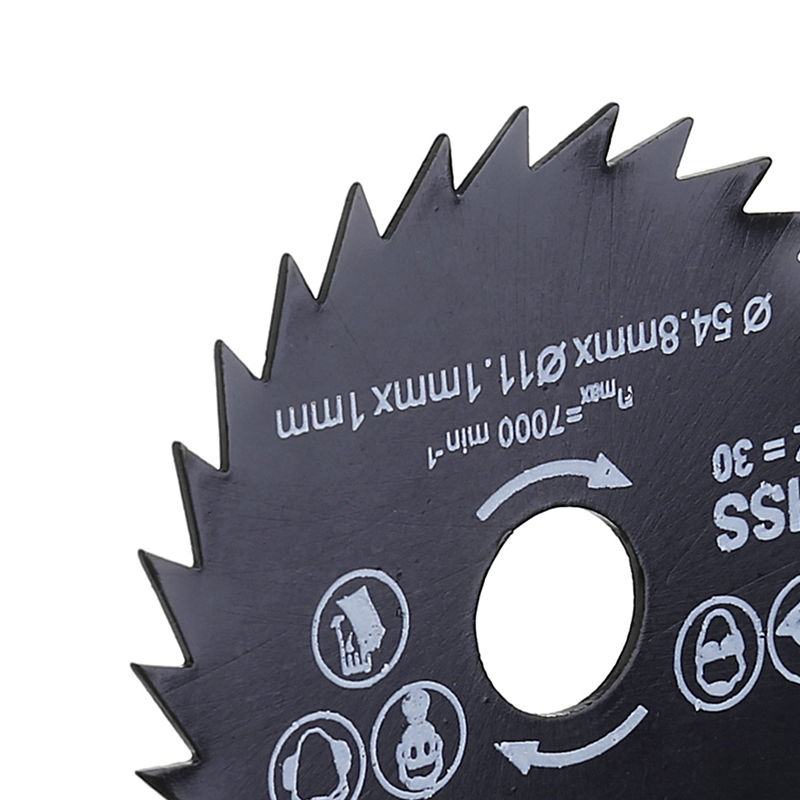 54.8mm Circular Saw Blade Power Rotary Tools For Wood Steel Cutting + Mandrel