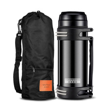 Outdoor High Capacity Stainless Steel Thermos Bottle Cup Insulated Vacuum Flasks Thermoses Travel Thermal Pot 1.5L/2L/3L