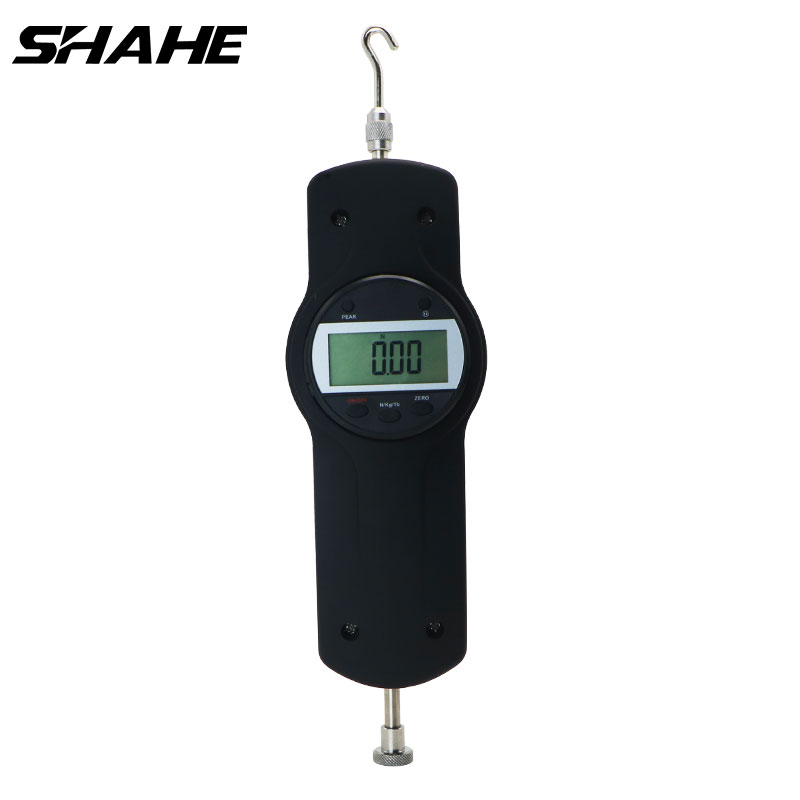 SHAHE Economic Digital Force Gauge 500N/50Kg/110Ib Dynamometer Push Pull Force Gauge SDF-500