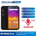 Blackview BV9900 Pro Термальность Камера мобильный телефон на процессоре Helio P90 Octa Core 8 ГБ 128 IP68 4G Прочный смартфон 48MP Quad сзади Камера