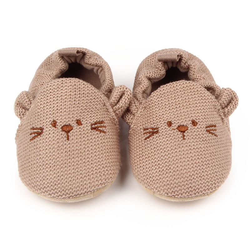 Cartoon Baby Shoes Winter Warm Infant Toddler Shoes Soft Sole Cotton Newborn Baby Girl Boy Shoes First Walkers Schoenen Meisje