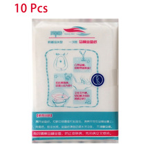 10 Pcs/Pack Disposable Toilet Seat Cover Mat Healthy Toilet Paper Pad Biodegradable Sanitary Home Wc Bathroom Accessiories