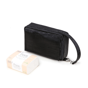 Image 3 - Soboba детские сумки для подгузников Сумка для беременных одноразовые многоразовые Твердые водонепроницаемые влажные сухие сумки для подгузников с ручкой черная сумка для протирания