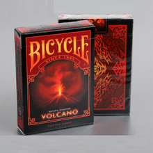 Bicycle Natural Disasters Volcano Playing Cards Collectable Poker USPCC Limited Edition Deck Magic Tricks Props