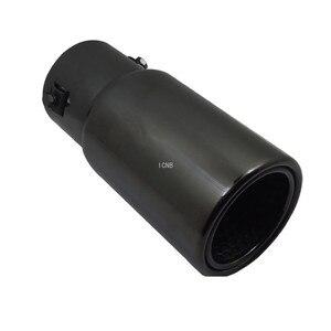 Image 3 - Stainless Steel Black Titanium Tail Throat for Toyota Prado 120/150 2003 2004 2005 2006 2007 2008 2009 2010 2011 2014 2018 2019