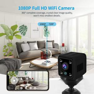 Image 3 - Kruiqi Wireless IP Camera HD 720P Mini Wifi Camera Network P2P Baby Monitor 1080P CCTV Security Video Camera with IR cut Two Way