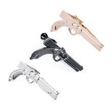 1.9 بوصة الوردي الذهب بندقية/مسدس عادية العصرية نوع التعادل تك كليب القضبان للرجال