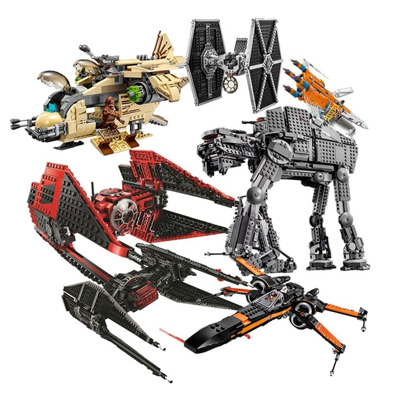 2020 novo major vonreg tie s tie fighter 75240 star destroyer preto ace tie interceptor x-wing bloco tijolos brinquedos lepining star wars