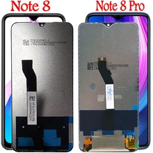 Original For Xiaomi Redmi note 8 Pro lcd Touch Screen Digitizer Assembly redmi note 8 display + frame for Redmi note 8 pro lcd