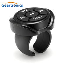 אלחוטי Bluetooth מדיה כפתור מרחוק בקר אופנוע רכב הגה MP3 מוסיקה לשחק עבור IOS אנדרואיד טלפון Tablet