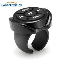 Mando a distancia inalámbrico con Bluetooth para coche, motocicleta, bicicleta, volante, MP3, música, para IOS, Android, tableta, teléfono