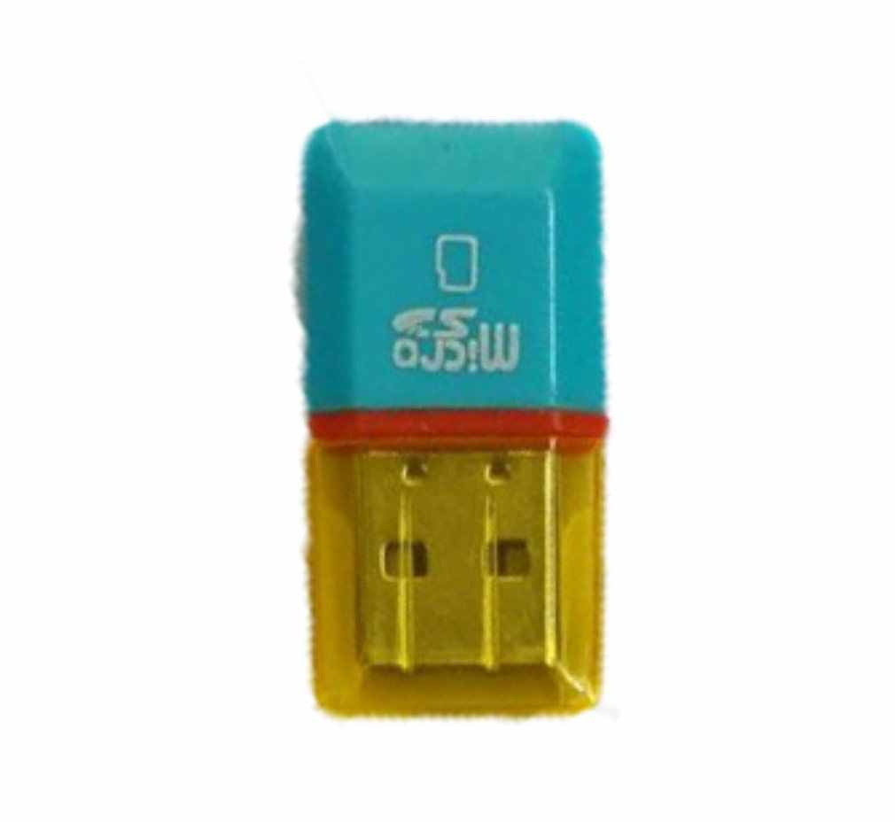 1 قطعة جديد الماس USB 2.0 مرحبا السرعة مايكرو SD SDHC TF قارئ بطاقات بالجملة مخزن