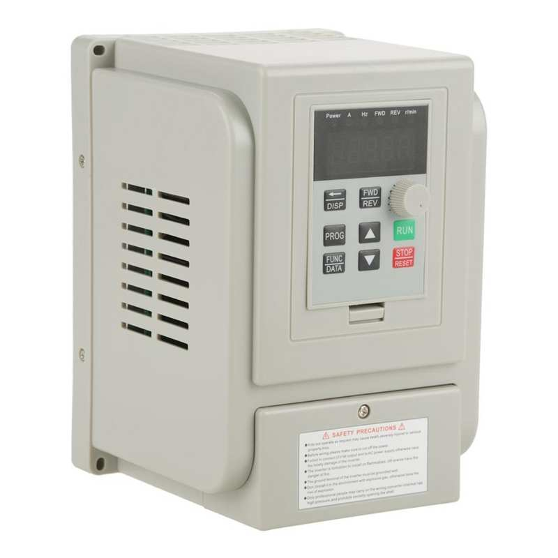 AC 220V 1.5KW Variable Frequency Drive VFD Frequency Converter Inverter Speed Controller for 3-phase Motor
