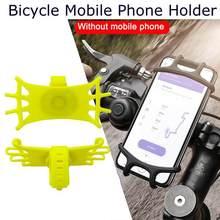 Motorrad Fahrrad Halterung Lenker Halter Universal Reiten Handy Halter Silikon Halterung Kann Gedreht Werden Auto Fitting