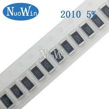 Pcs 2010 5% 3 50/4W SMD Chip Resistor resistores 0R - 10M 0 10 100 220 470 ohm 0R 10R 100R 220R 470R 10 1K 2.2K 4.7K 100K K 1M 10M