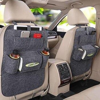 Car Back Seat Organiser Travel Storage Bag Organizer IPad With Pocket Holder 9 Pockets For Kids Toddlers