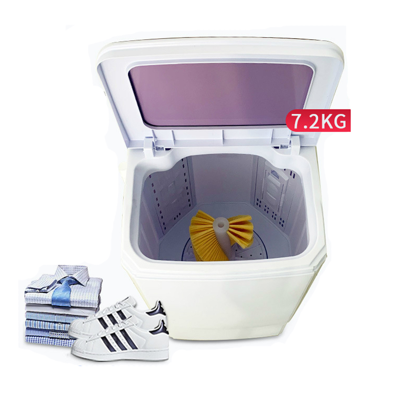 NEW 7.2kg Shoes Washer Mini Washing Machine For Shoes Clothes Laundry Dual-use Semiautomatic Shoes Washer And Dryer Machine 220V