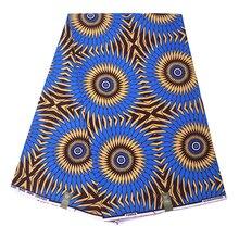 Ankara Holland Wax Print Fabric Wave Pattern Africa Soft Cotton Dutch African Batik Y3306