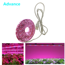 LED Grow Light Full Spectrum USB Grow Light Strip 0.5m 1m 2m 2835 Chip LED Phyto Lamp for Plants Flowers Greenhouse Hydroponic(China)
