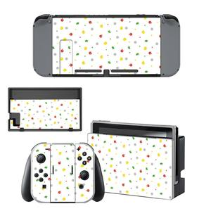 Image 5 - Animal Crossing Skin Sticker vinyl for Nintendo Switch sticker skin NS Console and Joy Con Controllers