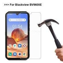 2-1 pçs vidro temperado para blackview bv9900e pro filme do telefone móvel em cristal templado blackview bv9600 bv9600e protetor de tela