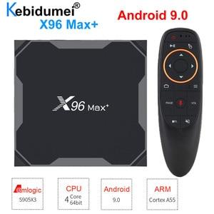 Image 1 - テレビボックスアンドロイド 9.0 × 96 最大セットトップボックス無線 Lan 、ブルートゥース Amlogic S905x3 8 18K スマートメディアプレイヤー 4 ギガバイト 32 ギガバイト/64 ギガバイト G10s I8 キーボード