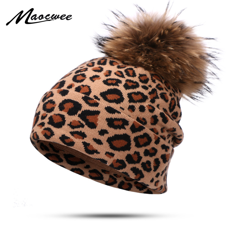 2019 Fashion New Leopard   Beanie   Hat Autumn And Winter Men And Women Outdoor Warm Hat Velvet Cotton Hedging Hat Windproof   Beanies