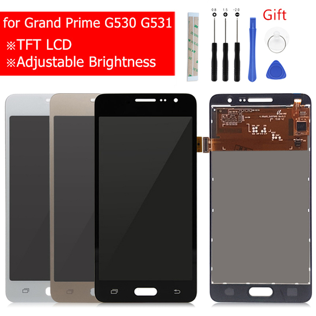 For Samsung Galaxy Grand Prime G530 LCD Display Touch Screen Digitizer Assembly G531H G531f G531FZ Display with repair Parts