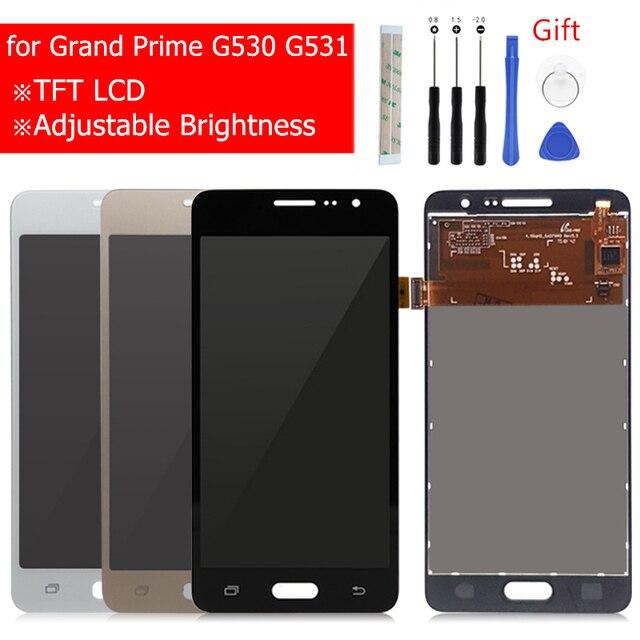 삼성 갤럭시 그랜드 프라임 G530 LCD 디스플레이 터치 스크린 디지타이저 어셈블리 G531H G531f G531FZ 디스플레이 수리 부품