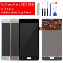 لسامسونج غالاكسي جراند برايم G530 LCD عرض تعمل باللمس محول الأرقام الجمعية G531H G531f G531FZ عرض مع إصلاح أجزاء