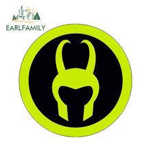 EARLFAMILY 13cm x 3D Car Stickers Marvel Loki Super Hero Window Bumper Decal Rear Windshield Styling Sticker Oem