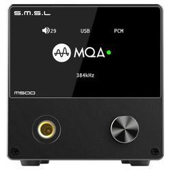 SMSL M500 Audio DAC MQA ES9038PRO XMOS XU216 Native DSD512 Headphone Amplifier
