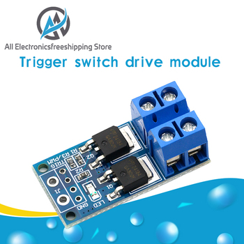 15A 400W MOS FET Trigger Switch Drive Module PWM Regulator Control Panel - discount item  10% OFF Electrical Equipment & Supplies