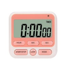 Portable Electronic Timer Kitchen Reminder Electronic Timer Kitchen Timer Mini Digital Timer Kitchen Gadget portable 1 7 lcd digital kitchen timer green white black