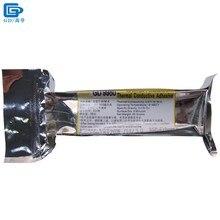 Net Gewicht 85 Gramm Schnelle Aushärtung Aluminium Weichen Schlauch Verpackung Weiß GD9980 Thermische Kleber Zement Kleber Silikon für LED VGA ST85