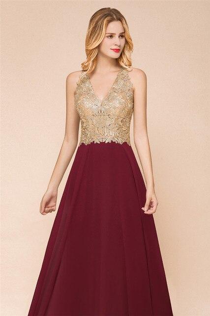 Babyonlinedress Halter Neck Lace Pearls Prom Dresses Long Sexy Open Back Chiffon Evening Prom Gowns Vestido De Gala Jurken 4
