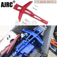TRAXXAS 1/10 4s MAXX MONSTER TRUCK 89076-4 aluminium direction avant support fixe plaque de pression remplacer #8921(China)