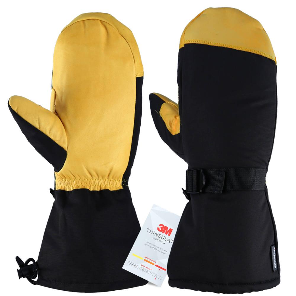 Ski Gloves Winter Snowboard Snowmobile Skiing Sports Motorcycle Riding Windproof Waterproof Warm Gloves For Men Woman