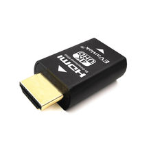 Evanlak hdmi emulador edid passthrough 3rd generrtion alumínio superior eliminou o adaptador do emulador aplicável com ps5 outp jogo