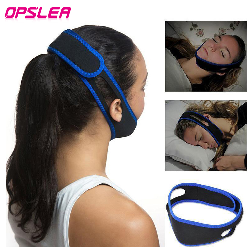 Health Care Anti Snore Chin Strap Mouth Guard Bandage Stop Bruxism Snoring Aid Snore Chin Strap Women Men Aid Sleeping Belts