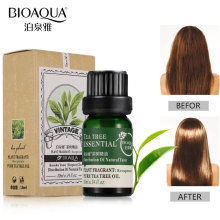 BIOAQUA Natural Tea Tree Oils Anti-acne Face Body Fragrance Aromatherapy Massage Pure Essential Oil Skin Care Nourish Hair Care цена в Москве и Питере